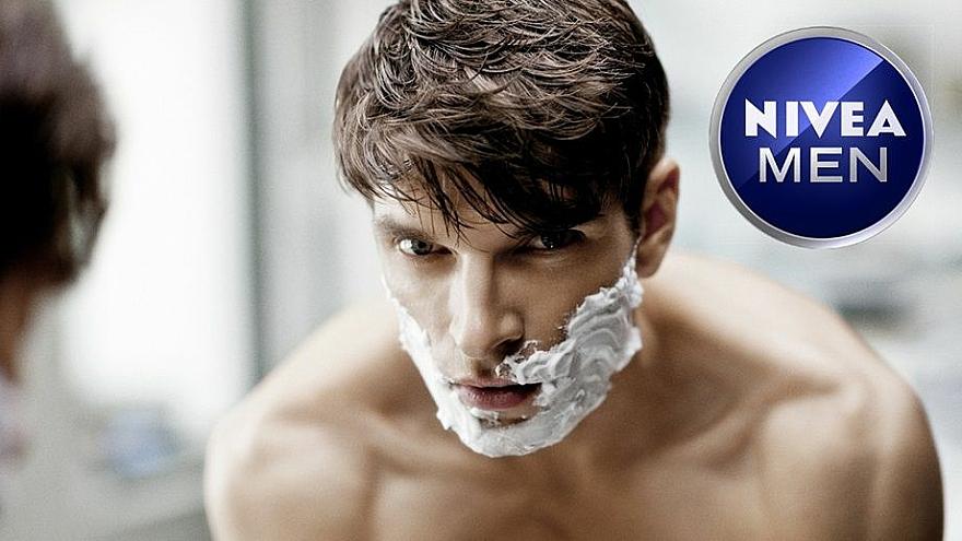 Rasierschaum bei extra starkem Bartwuchs - Nivea For Men Strong Beard Shaving Foam — Bild N2