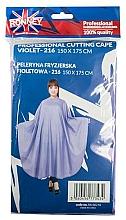 Düfte, Parfümerie und Kosmetik Friseurumhang violett - Ronney Professional Cutting Cape 150x175 cm