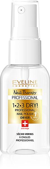 Nagellack-Schnelltrocknungsspray - Eveline Cosmetics Nail Therapy