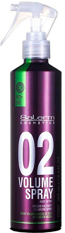 Haarstylingspray für mehr Volumen Mittlerer Halt - Salerm Pro Line Volume Spray