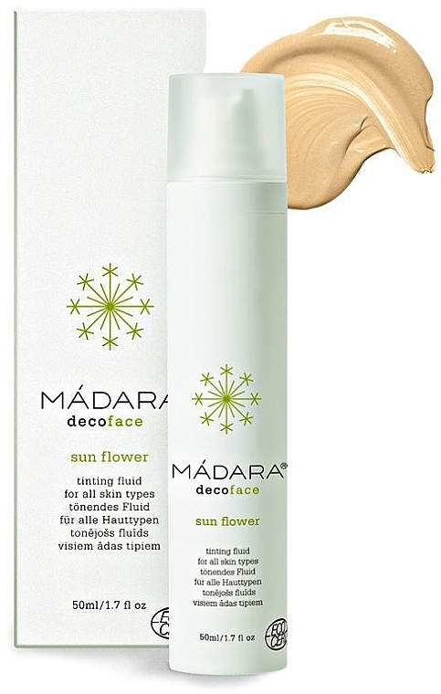 Getöntes Gesichtsfluid - Madara Cosmetics Sun Flower Tinting Fluid — Bild N1