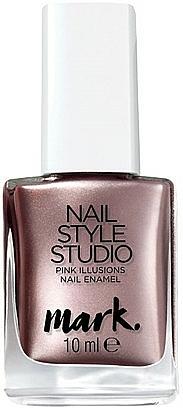 Nagellack mit metallischem Effekt - Avon Mark Nail Style Studio