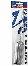 Haarfärbepinsel mit Kamm - Ronney Professional Silicone Tinting Brush 224 — Bild N2