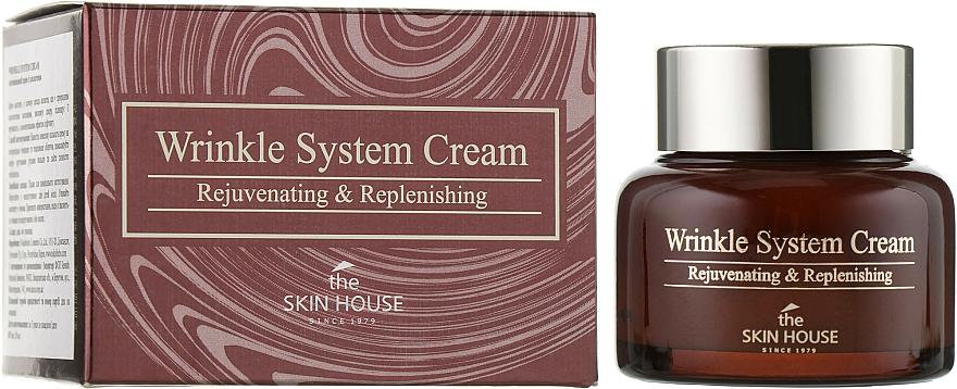 Verjüngende Anti-Falten Gesichtscreme mit Kollagen - The Skin House Wrinkle System Cream