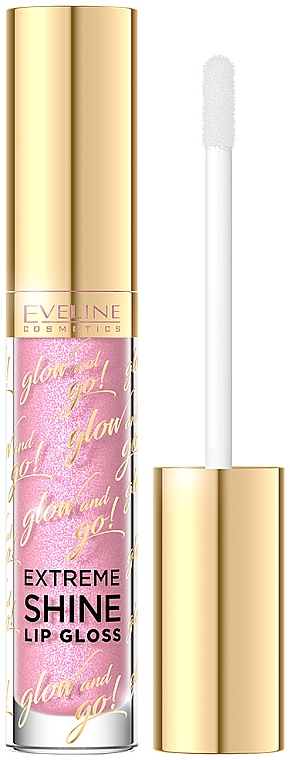 Lipgloss - Eveline Cosmetics Glow & Go Extreme Shine Lip Gloss