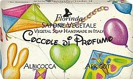Düfte, Parfümerie und Kosmetik Handgemachte Naturseife für Kinder mit Aprikose - Florinda Sapone Apricot