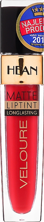 Flüssiger Lippenstift - Hean Veloure Matte Liptint