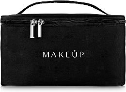 Düfte, Parfümerie und Kosmetik Kulturbeutel 22x16x13 cm schwarz - MakeUp