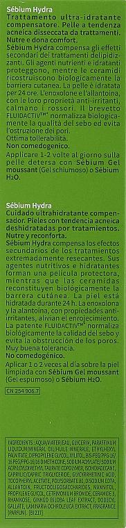 Feuchtigkeitsspendende Gesichtscreme für zu Akne neigende Haut - Bioderma Sebium Hydra Moisturising Cream — Bild N3