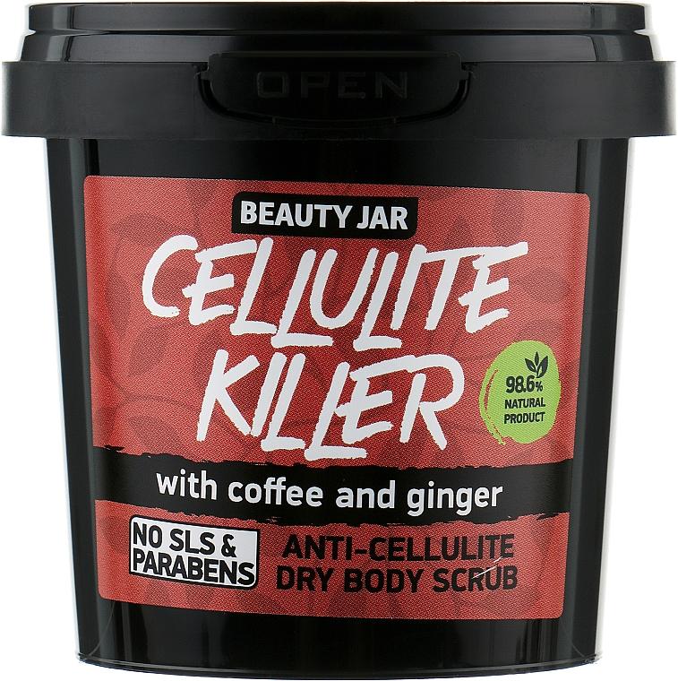 "Anti-Cellulite Körperpeeling ""Cellulite Killer"" - Beauty Jar Anti-Cellulite Dry Body Scrub"