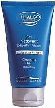 Düfte, Parfümerie und Kosmetik Reinigendes Detox Gesichtsgel mit Blaualgen - Thalgo Cleansing Gel Nettoyant