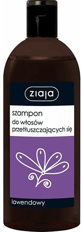 Shampoo für fettiges Haar mit Lavendel - Ziaja Shampoo