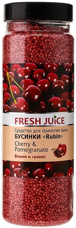 Badeperlen Kirsche & Granatapfel - Fresh Juice Bath Bijou Rubin Cherry and Pomergranate