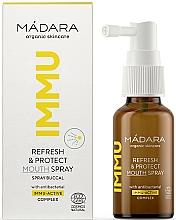 Düfte, Parfümerie und Kosmetik Erfrischendes und schützendes Mundspray - Madara Cosmetics IMMU Refresh & Protect Mouth Spray