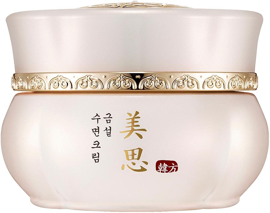 Anti-Aging Nachtcreme für Gesicht mit fernöstlichen Kräutern und Nephritenwasser - Missha Misa Geum Sul Overnight Cream