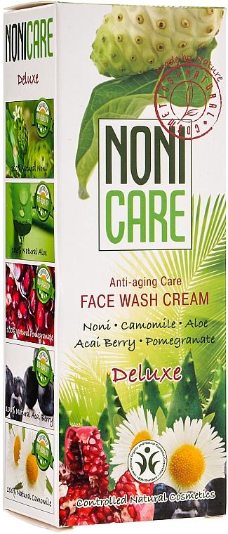 Anti-Aging Gesichtsreinigung mit Kamillen-, Aloe Vera-, Acai Beere-, Noni- und Granatapfelextrakt - Nonicare Deluxe Face Wash Cream — Bild N1