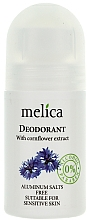 Düfte, Parfümerie und Kosmetik Deo Roll-On mit Kornblumenextrakt - Melica Organic With Camomile Extract Deodorant