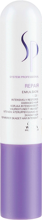 Intensive Regeneration für strapaziertes Haar - Wella S Repair Emulsion