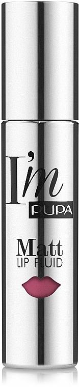 Flüssiger Lippenstift - Pupa I'm Matt Lip Fluid