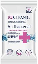 Düfte, Parfümerie und Kosmetik Antibakterielle Feuchttücher 24 St. - Cleanic Antibacterial Wipes