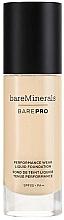Düfte, Parfümerie und Kosmetik Flüssige Foundation mit LSF 20 - Bare Escentuals Bare Minerals Barepro 24-Hour Full Coverage Liquid Foundation SPF 20