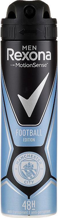 Deospray Antitranspirant - Rexona Manchester City Spray