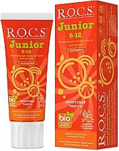 Düfte, Parfümerie und Kosmetik Zahnpasta für Kinder Frucht Regenbogen - R.O.C.S. Junior
