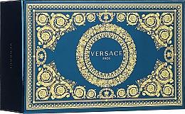 Düfte, Parfümerie und Kosmetik Versace Eros - Duftset (Kosmetiktasche + Eau de Toilette 100ml + Eau de Toilette 10ml)