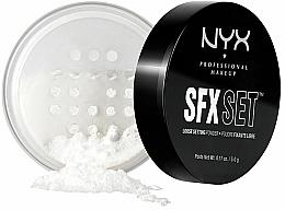 Düfte, Parfümerie und Kosmetik Loser Gesichtspuder für ein mattes Finish - NYX SFX Setting Powder