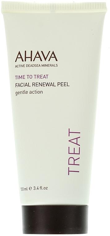 Sanftes regenerierendes Gesichtspeeling-Gel für einen strahlenden Teint - Ahava Time to Treat Facial Renewal Peel