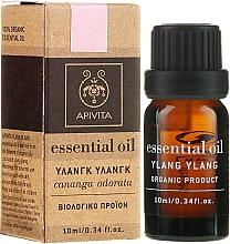 Ätherisches Ylang-Ylang-Öl - Apivita Aromatherapy Organic Ylang-Ylang Oil  — Bild N1