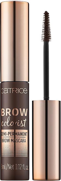 Augenbrauen-Mascara - Catrice Brow Colorist Semi-Permanent Brow Mascara