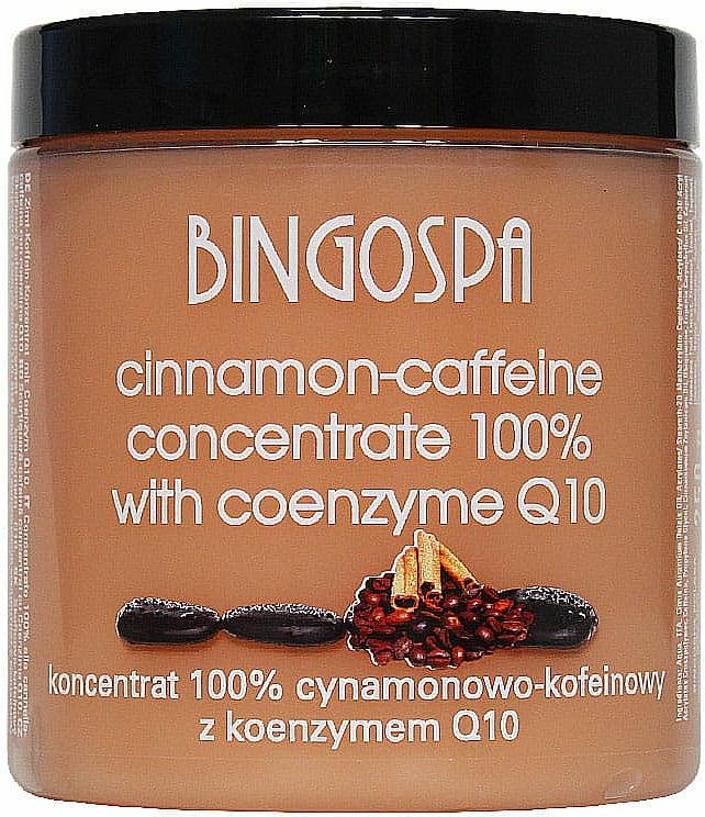Anti-Cellulite Zimt- und Koffeinkonzentrat mit Coenzym Q10 - BingoSpa Concentrate 100% Cinnamon-Caffeine With Coenzyme Q10