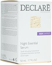 Regenerierendes Anti-Falten-Nachtserum - Declare Age Control Night Repair Essential Serum — Bild N1