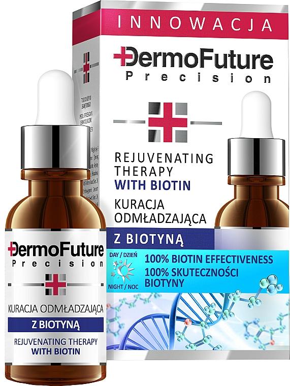Verjüngende Therapie für das Gesicht mit Biotin - DermoFuture Rejuvenating Therapy With Biotin