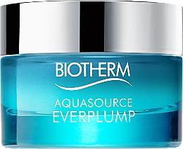 Düfte, Parfümerie und Kosmetik Glättende und aufpolsternde Gesichtscreme für empfindliche Haut - Biotherm Aquasource Everplump Moisturizer Cream