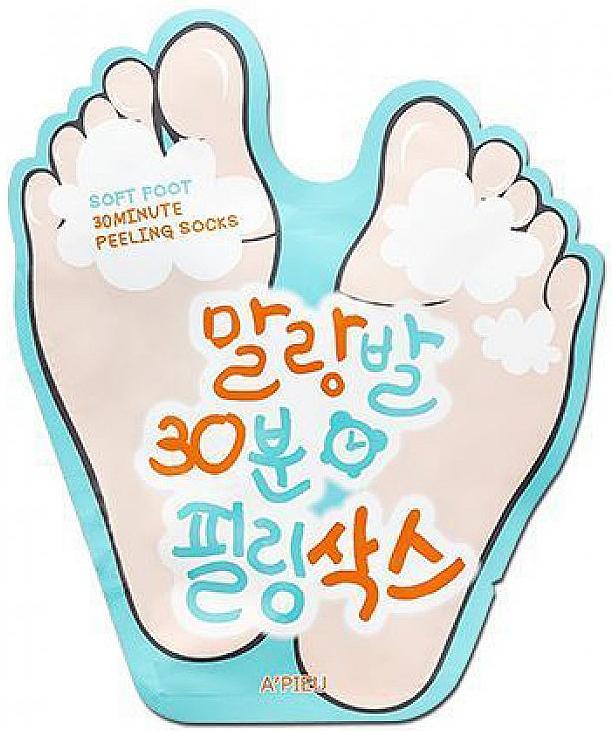Fußpeeling in Socken - A'pieu Soft Foot Peeling Socks