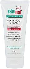 Düfte, Parfümerie und Kosmetik Intensive feuchtigkeitsspendende Fußcreme für sehr trockene Haut mit 10% Harnstoff - Sebamed Extreme Dry Skin Repair Foot Cream 10% Urea