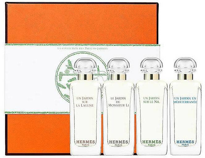 Hermes Miniature Set Garden - Duftset (Eau de Toilette 7.5ml + Eau de Toilette 7.5ml + Eau de Toilette 7.5ml +Eau de Toilette 7.5ml)