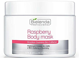 Düfte, Parfümerie und Kosmetik Körpermaske mit Himbeere, Guarana und Koffein - Bielenda Professional Raspberry With Guarana Bio-Caffeine Body Mask