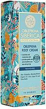 Düfte, Parfümerie und Kosmetik Pflegende Fußcreme mit Extrakt aus Sanddorn - Natura Siberica