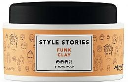 Düfte, Parfümerie und Kosmetik Haarstylngpaste Starker Halt - Alfaparf Style Stories Funk Clay Strong Hold