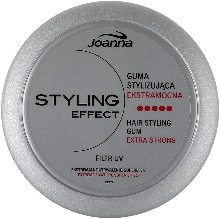 Haarstyling extra starke Fixierung - Joanna Styling Effect Hair Styling Gum Extra Strong