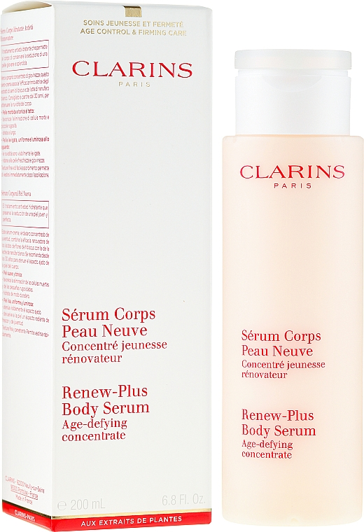Regenerierendes Körperserum - Clarins Renew-Plus Body Serum