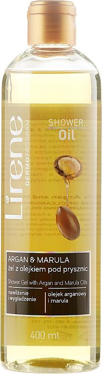 Duschöl mit Argan- & Marulaöl - Lirene Shower Oil Argan + Marula