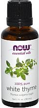 Düfte, Parfümerie und Kosmetik 100% Reines ätherisches Öl Weißer Thymian - Now Foods Essential Oils 100% Pure White Thyme