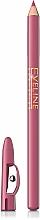 Düfte, Parfümerie und Kosmetik Lippenkonturenstift mit Anspitzer - Eveline Cosmetics Max Intense Colour