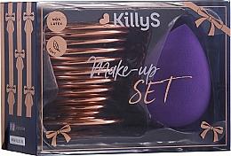 Düfte, Parfümerie und Kosmetik Make-up Schwämmchen mit Halter - KillyS