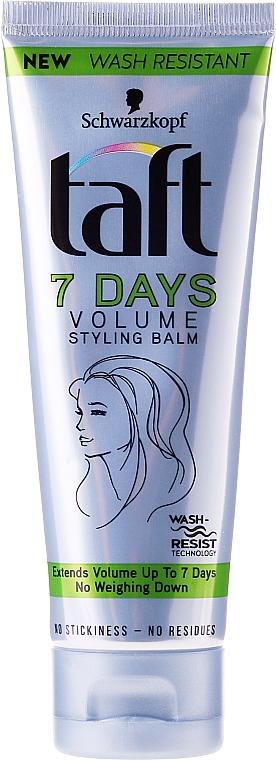 Haarstyling Balsam für mehr Volumen - Schwarzkopf Taft 7 Days Volume Styling Balm