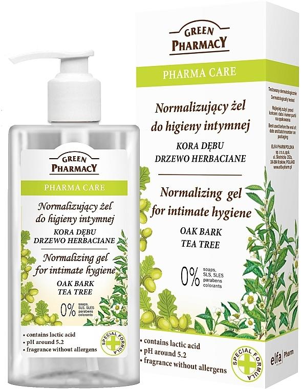 Gel für die Intimhygiene - Green Pharmacy Normalizing Gel